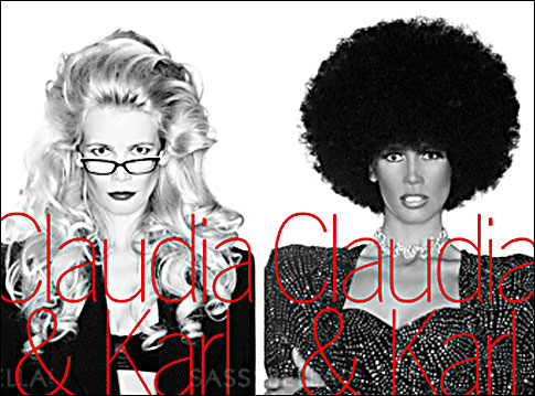 Claudia Schiffer photo controversy